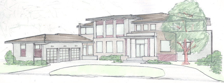Modern Lakefront Home